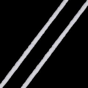 Guma guľatá 3mm biela - mäkká